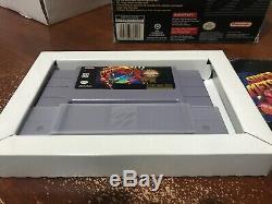 Super Metroid (Super Nintendo Entertainment System, 1994) Complete CIB
