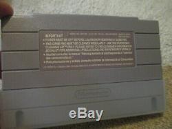 Super Metroid (Super Nintendo SNES) Complete CIB with Poster + Ads
