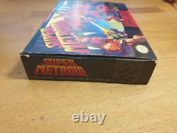 Super Metroid Super Nintendo SNES OVP CIB Boxed NTSC