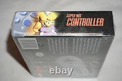 Super NES Controller (Super Nintendo SNES) NEW Factory Sealed NEAR MINT Official