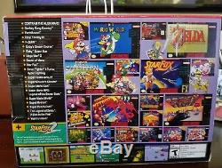 Super NES Nintendo Classic Edition Mini SNES System Console Brand New