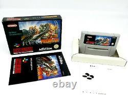 Super Nintendo Alien Vs Predator Complete NOE SNES Ultra Rare 100% Original