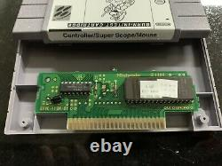 Super Nintendo Burn-In Test Cartridge SNES Controller / Super Scope / Mouse RARE