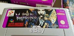 Super Nintendo Castlevania Vampire's Kiss SNES EUR RARE