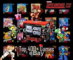 Super Nintendo Classic Edition Console SNES Mini Entertainment System 400+ Games
