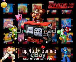 Super Nintendo Classic Edition Console SNES Mini Entertainment System 450+ Games