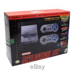 Super Nintendo Classic Edition Console SNES Mini Entertainment System-Brand New