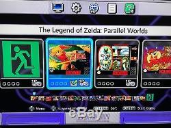Super Nintendo Classic Edition Console SNES Mini System 540+ Games NES, SNES MOD