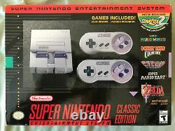 Super Nintendo Classic Mini Edition SNES System 530+ Games! NES! BRAND NEW