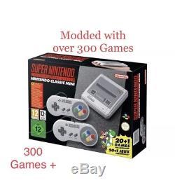 Super Nintendo Classic Mini SNES Console WITH OVER 300 GAMES FREE P&P
