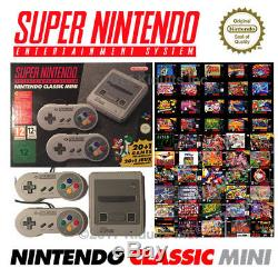 Super Nintendo Classic Mini Snes Console 100 Games Titles Upgrade Mod Hack
