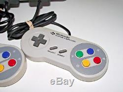 Super Nintendo Console + Mario All Stars + 2 Controller SNES PAL Seller Refurb