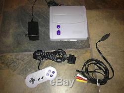 Super Nintendo Console Mini Snes Game System Original Sns-101 Hook Ups Nes Hq