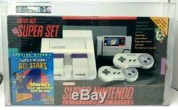 Super Nintendo Console SNES NES Set Mario World All-Stars Qualified New VGA 75+