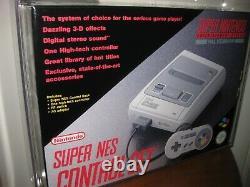 Super Nintendo Console VGA 90 Brand New WATA PAL AUS SNES BNIB Zelda Mario
