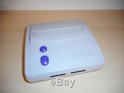 Super Nintendo Control Deck Tetris Attack Mini 101 System Complete SNES Console