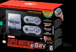 Super Nintendo Entertainment System Classics Minis Retro Console SNESs US ver