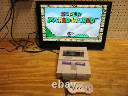 Super Nintendo Entertainment System Complete! SNS-001 TESTED SNES