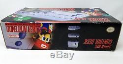 Super Nintendo Entertainment System Control Deck Gray Console Brand New in Box