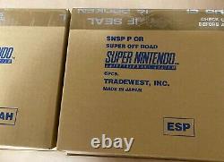 Super Nintendo Entertainment System PAL Combined Run Sabre Super Off Road