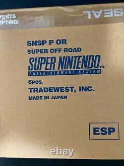 Super Nintendo Entertainment System PAL Super Off Road Sealed Europe ESP Spain