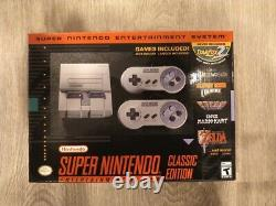 Super Nintendo Entertainment System SNES Classic Edition Console Brand New