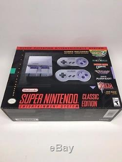 Super Nintendo Entertainment System SNES Classic Edition Mini Console