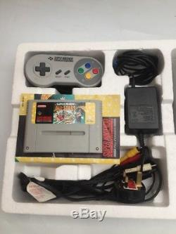 Super Nintendo Entertainment System SNES Console MARIO ALL STARS BOXED / TESTED