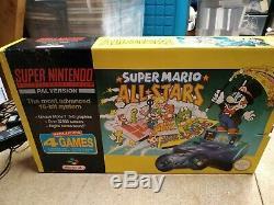 Super Nintendo Entertainment System SNES Mario All Stars Pack