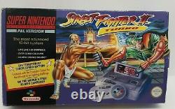 Super Nintendo Entertainment System SNES Street Fighter 2 II Turbo PAL Tested
