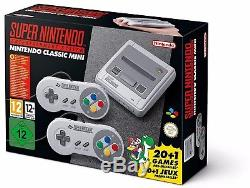 Super Nintendo Entertainment System Super NES Classics Edition Mini 2017 NEW