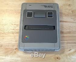 Super Nintendo Famicom System SNES MULTI REGION WideCart 50/60Hz PAL NtscJ NtscU