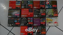 Super Nintendo Lot Jeux Video Snes Megadrive Lots Action Replay2 Super Nes Game