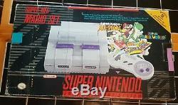 Super Nintendo Mario Set Mario All Stars+Super Mario World SNES Console in Box