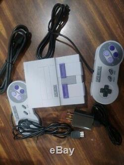 Super Nintendo Mini Entertainment System Super NES Classic Edition 21 GAMES HMI