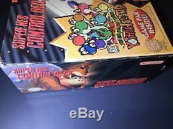 Super Nintendo Mini SNES Gray Console Yoshi's Island (NTSC) Brand New