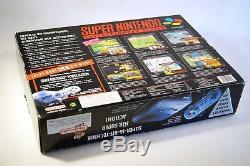Super Nintendo Power Station Set SNES Konsole (PAL) OVP CIB komplettwie neu