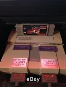 Super Nintendo Retail Store Console NES SNES Super Mario Cart Controller Bundle