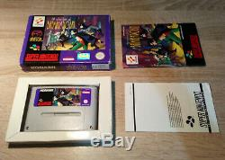 Super Nintendo SNES /Batman & Robin +OVP +Anleitung /dt. PAL CIB 100% Original