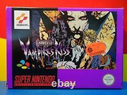 Super Nintendo SNES Castlevania Vampire´s Kiss + Anleitung + OVP CIB Rare