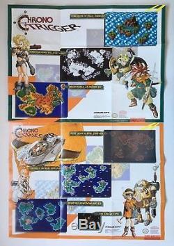 Super Nintendo SNES Chrono Trigger Complete in Box CIB Authentic Rare #2