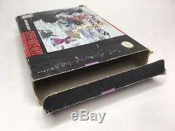 Super Nintendo SNES Chrono Trigger Original Box + Manual + Tray Only No Game