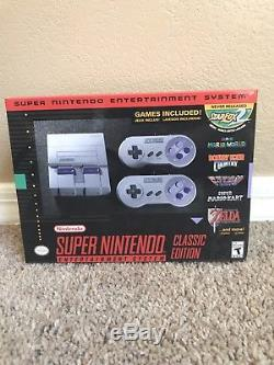 Super Nintendo SNES Classic Edition Mini IN HAND Ready To Ship