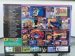 Super Nintendo SNES Classic Edition Mini Modded 300+ Best Games Brand New
