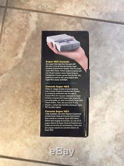 Super Nintendo SNES Classic Edition Mini System Console 21 Games HDMI Brand New