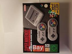 Super Nintendo SNES Classic Mini Console never been used