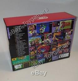 Super Nintendo SNES Classic Mini Edition 100% Authentic 270+ Games New