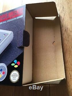 Super Nintendo SNES Console Boxed Mint