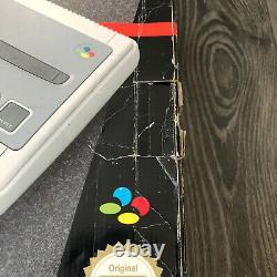 Super Nintendo SNES Console Boxed Super Mario World Variant
