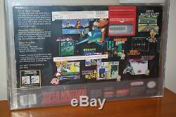 Super Nintendo SNES Console Bundle withYoshi's Island NEW UNUSED MINT VGA Q85
